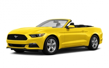 FORD Mustang (YELLOW) Cabrio 2017