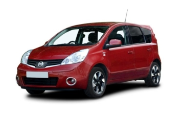 NISSAN Note Red